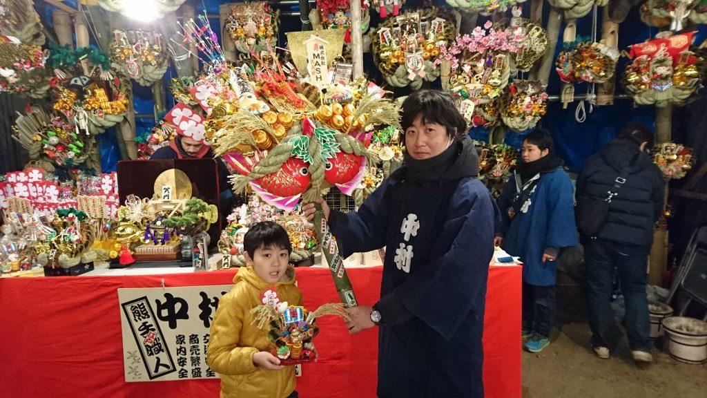 本日は2016年大宮氷川神社での十日市(大湯祭)ですよ、とかいいつつ僕は9日の前夜祭で熊手買ってきちゃいましたが