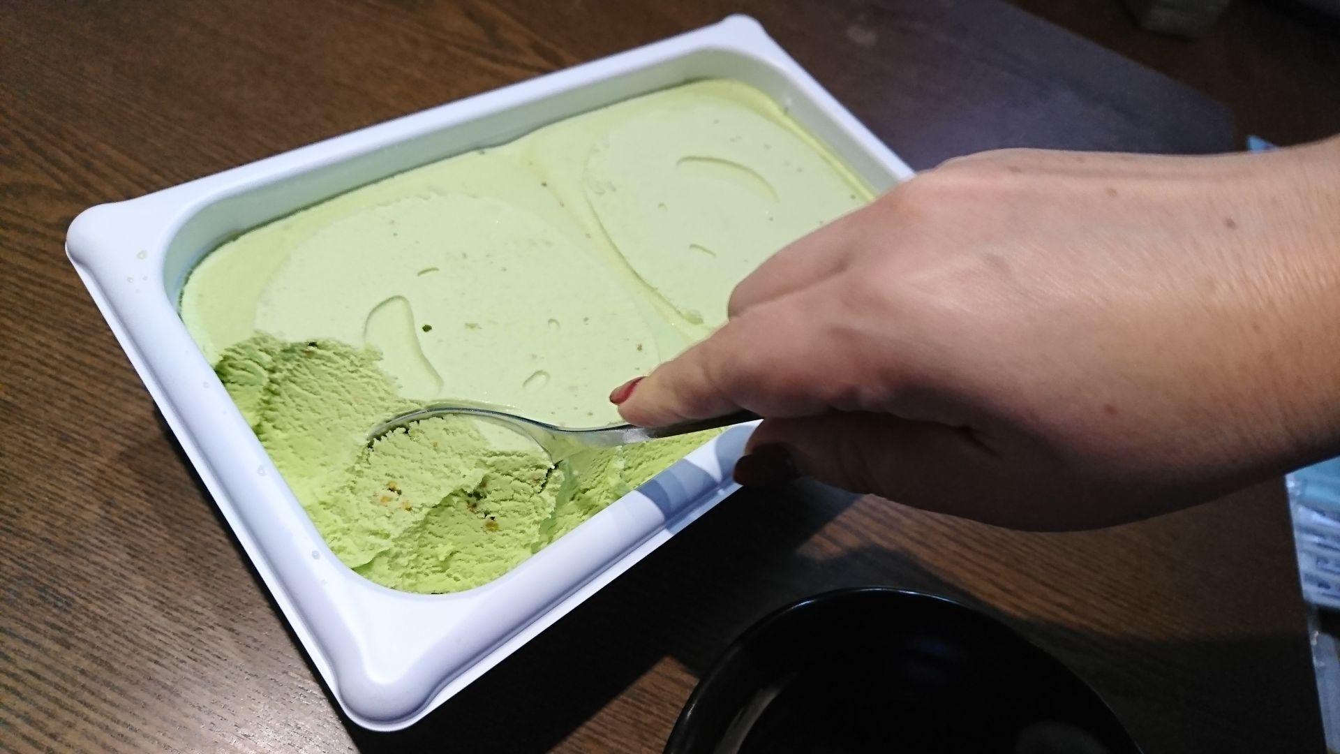ローストピスタチオアイスクリームを大人買いしたら幸せになった