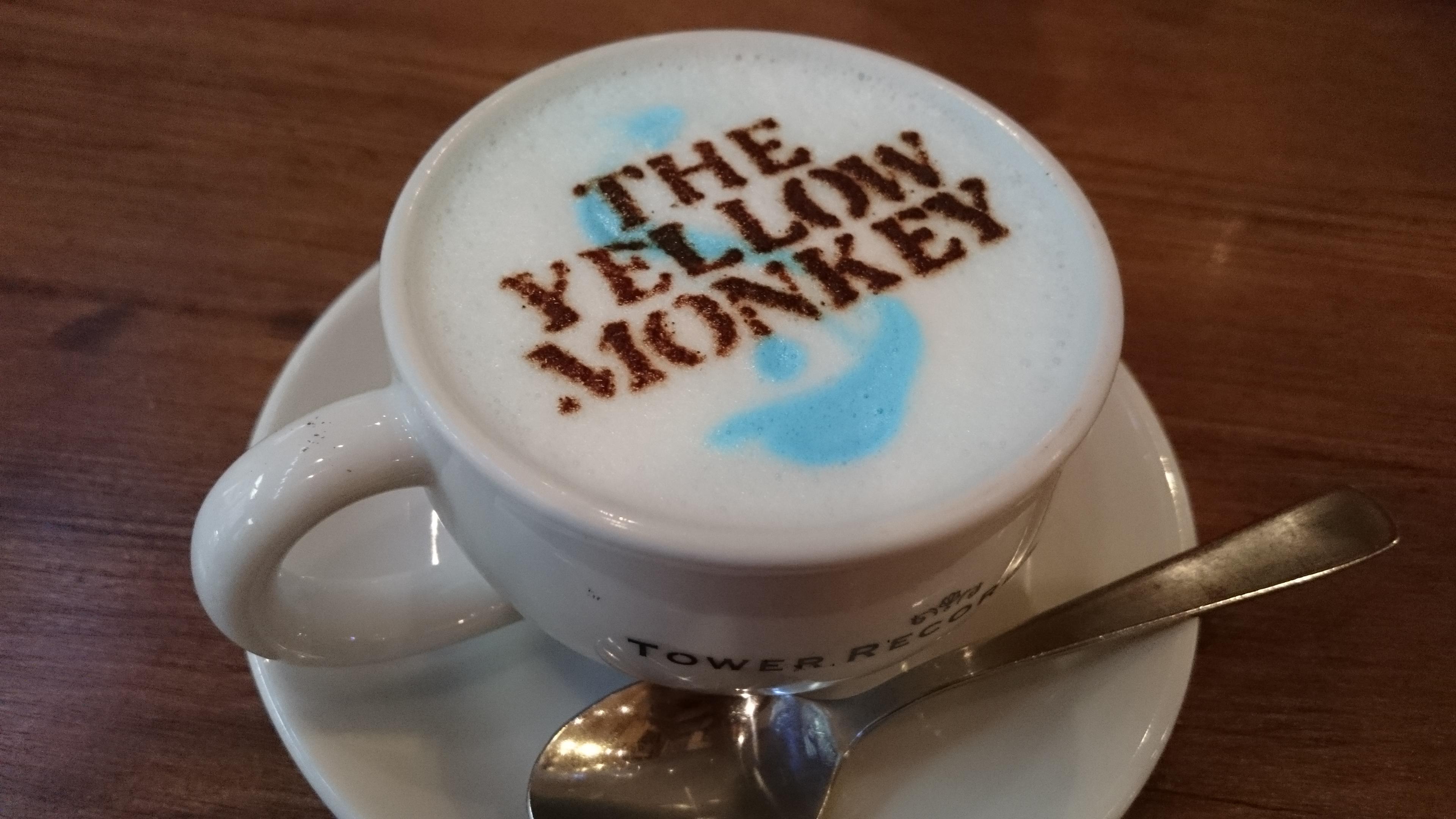 タワモン SUPER CAFEは2016/5/29までの期間限定営業、THE YELLOW MONKEYファンはタワレコに急げ!