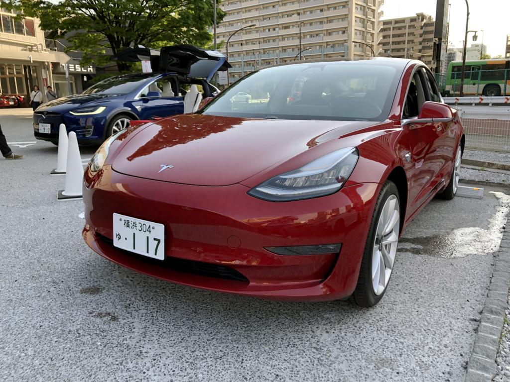 生 Tesla Model 3 を見て触って乗ってきたのでレポートするよ