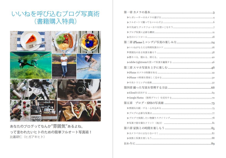 アフィリエイト 稼ぐ力をつけるための教科書の特典PDF『「いいね」を呼び込む写真術』が90ページもの大容量でやばい