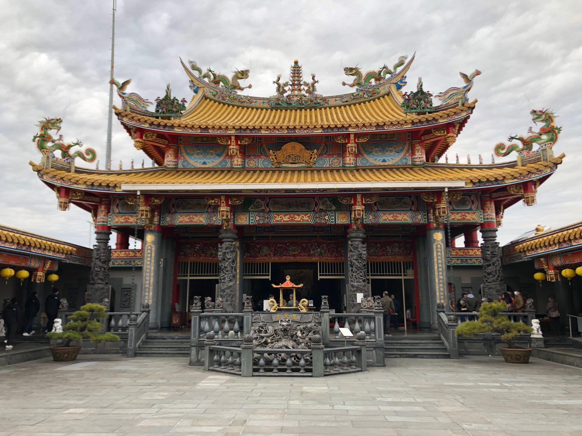春節に埼玉の台湾「聖天宮」に初詣に行って特別祈祷祈願を受けてきたお話