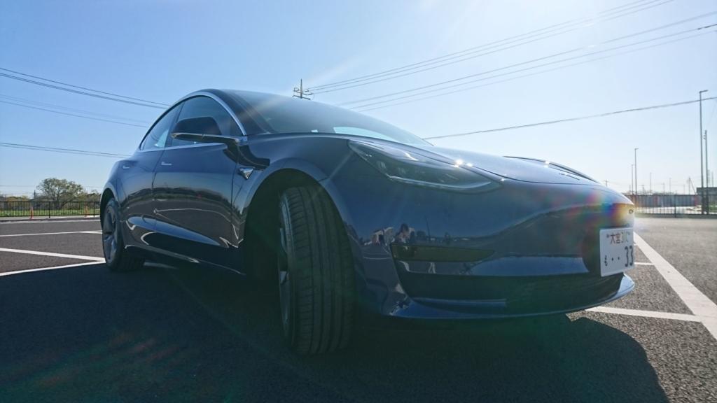 遂にテスラ モデル3 スタンダードレンジ プラス RWD納車!まずは外観とインテリアをフォトレビューします